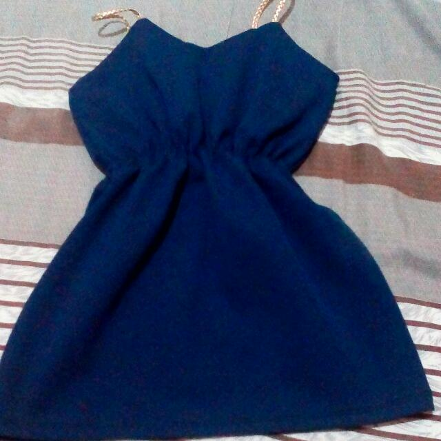 Blue Dress For Baby girl