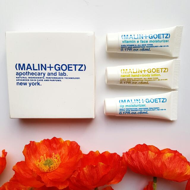 BNIB Malin+Goetz Travel Pack