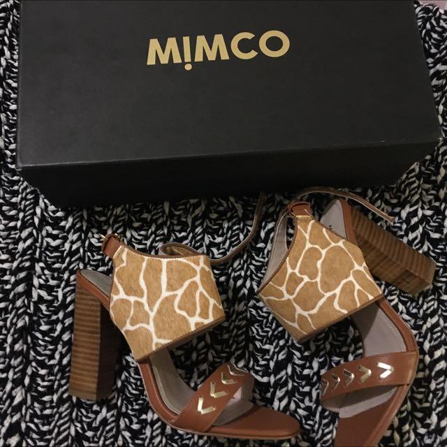 BNIB mimco Safari Heels Size 37