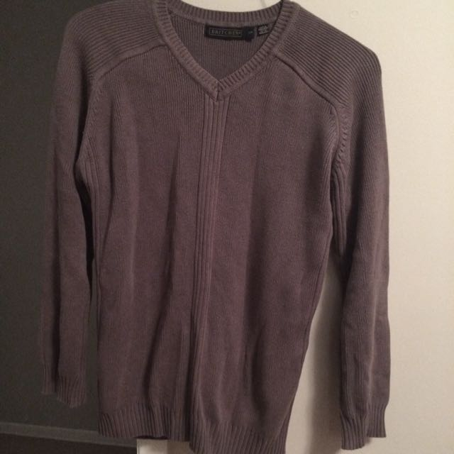 Britches Grey Sweater