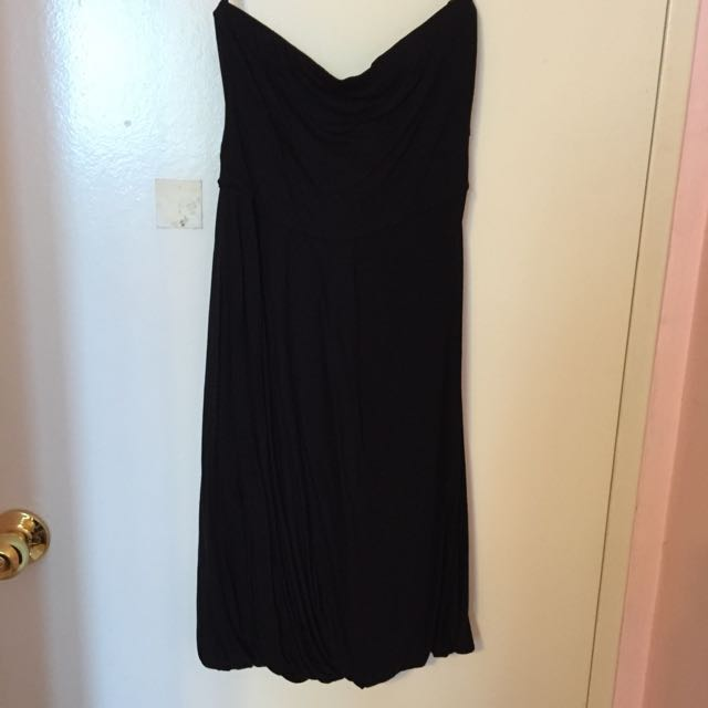Club Monaco Black Tube Dress