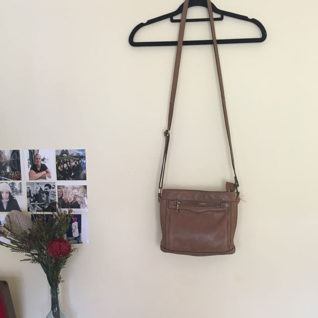 Colorado Brown Authentic Leather Cross Body Bag