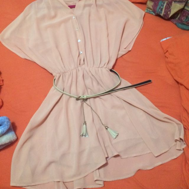 Costa Blanca Dress with belt