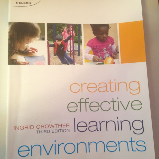 Creating Effective Learning Environments- 3rd Edition