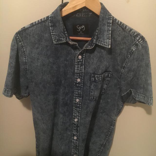 Denim Shirt M