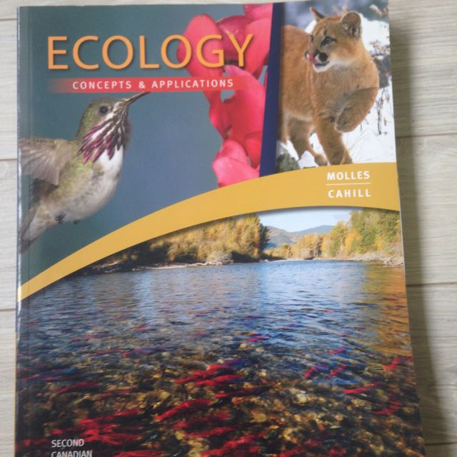 Ecology Concepts And Applications SECOND Canadian Edition