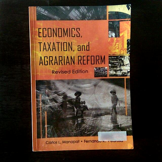 Economics, Taxation, and Agrarian Reform Book