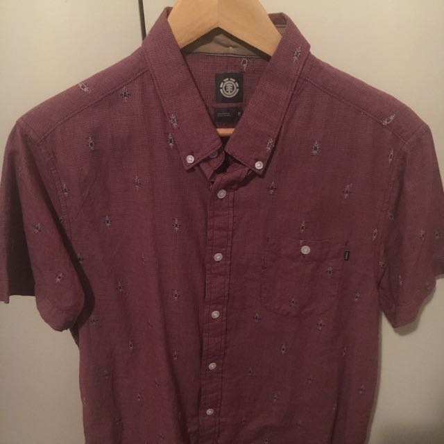 Element Red Shirt M