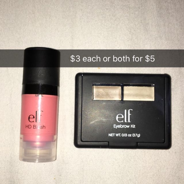 Elf Blush And Eyebrow Kit