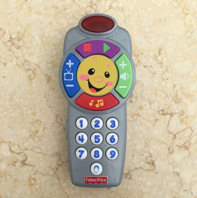 FISHER PRICE REMOTE CONTROL TOY FOR KIDS