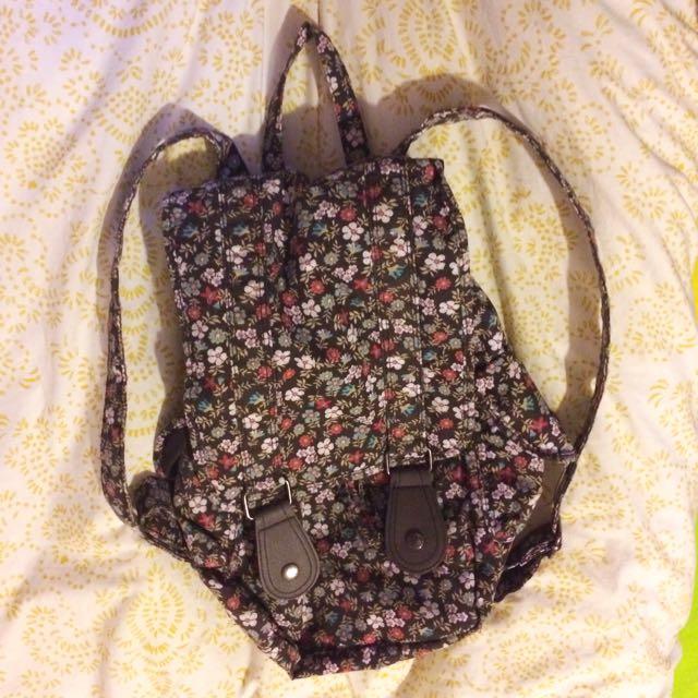 Floral Backpack / Rucksack