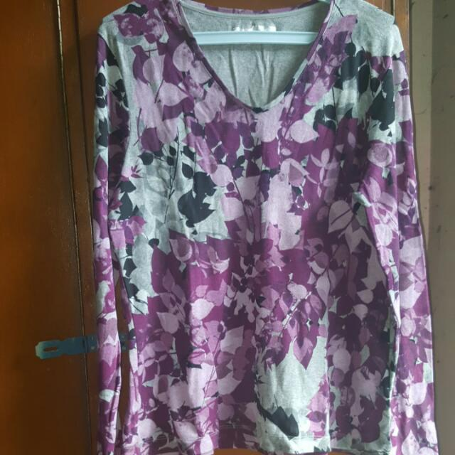 Floral Cotton Longsleeves