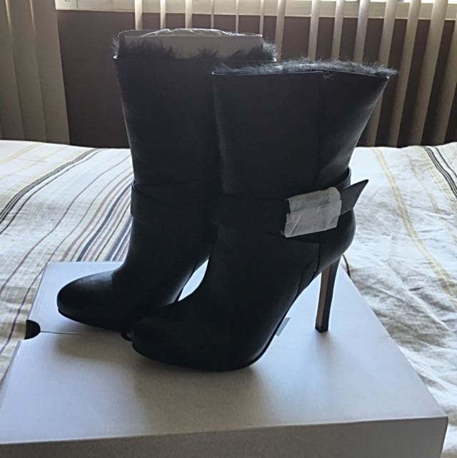 Genuine Leather Boooties From Aldo