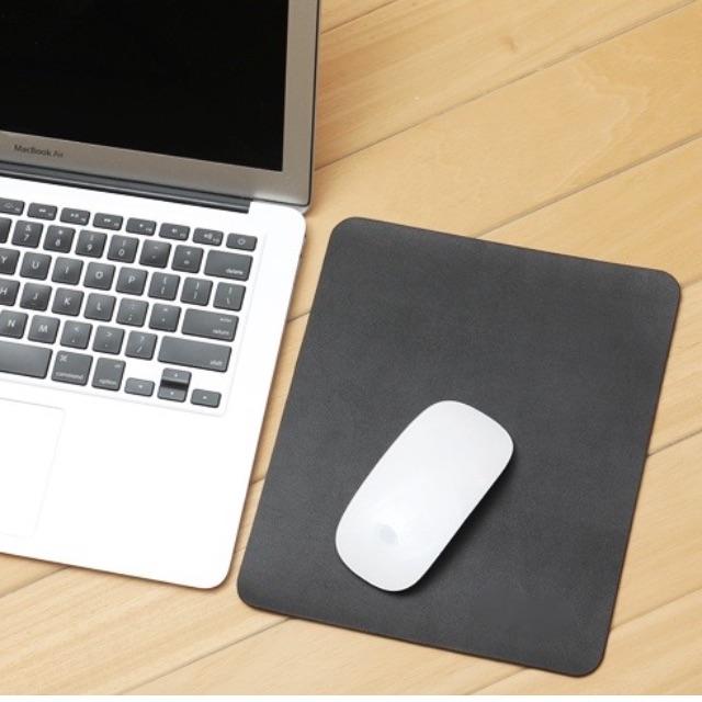 Mouse Pad Genuine Microfibre Leather