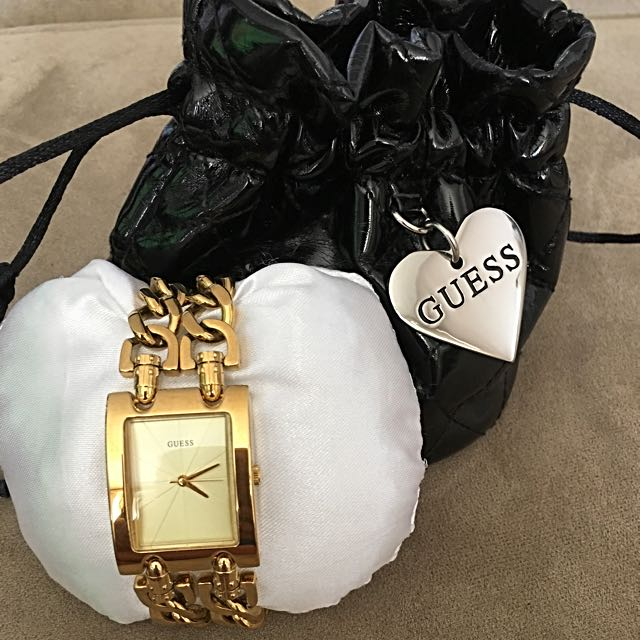 Gold Plated Watch From Guess