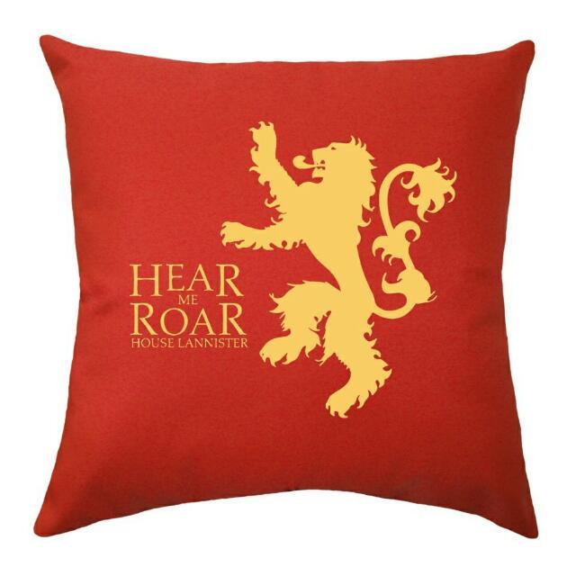 GoT House Lannister Throw Pillow
