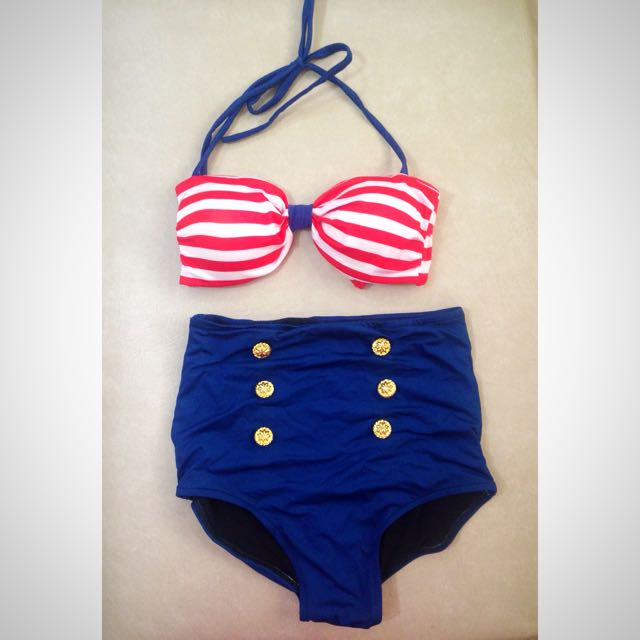 High Waist Two Piece Swimsuit