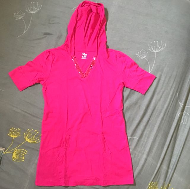 Hooded Blouse
