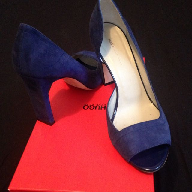 Hugo Boss Open Toe Heels