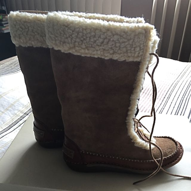 Hush Puppies Lace Up Winter Boots