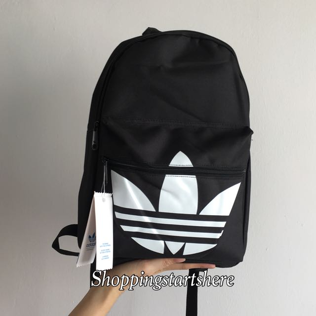 bf300b92f INSTOCK] Adidas Originals Classic Trefoil Backpack/School Bag ...