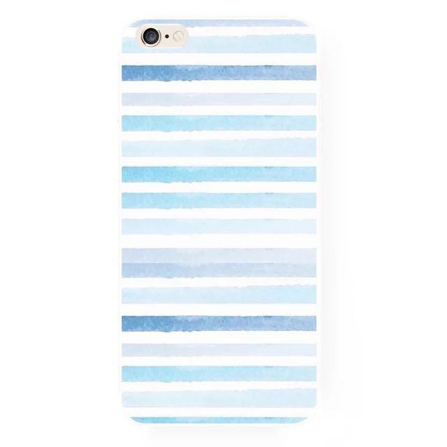 海上的波紋iPhone手機殼(A)