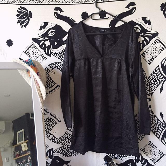 ISHKA Silk Dress