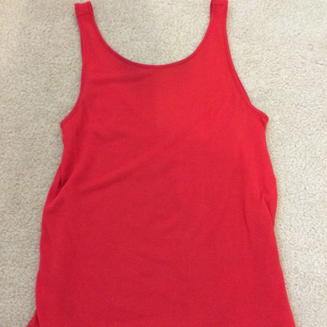 Kookai Women's Red Singlet Top