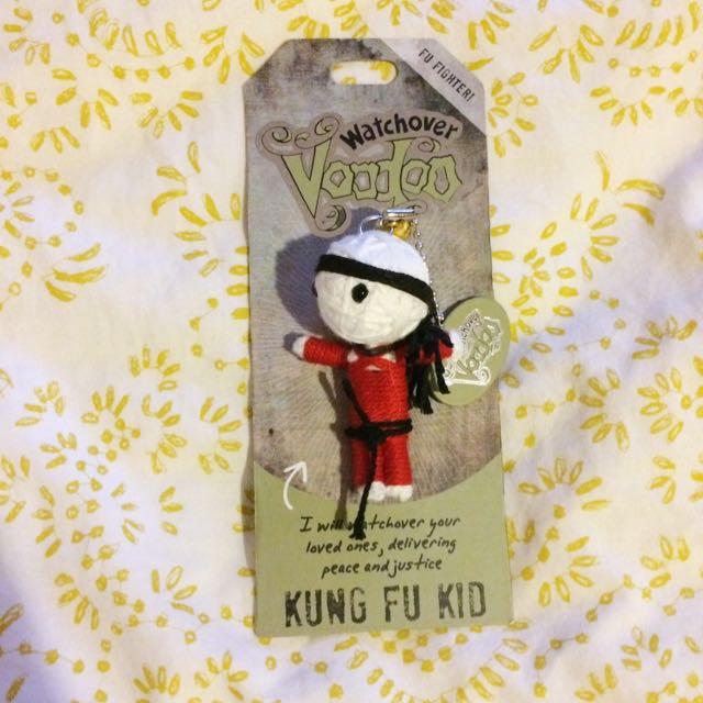 Kung Fu Kid Voodoo Doll Keychain