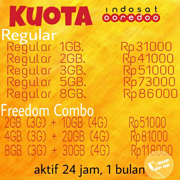 Kuota Internet Indosat