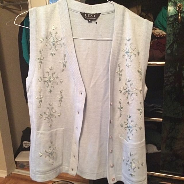 Lexy Designer Collection Baby Blue Vest