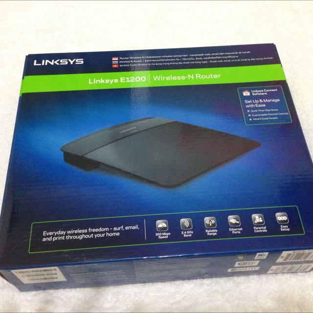 LINKYSIS E-1200 Wireless-N Router