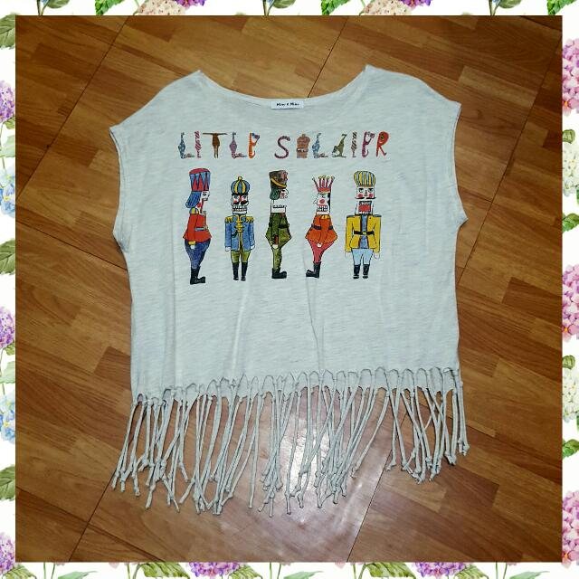 Little Soldiers Muscle Tee