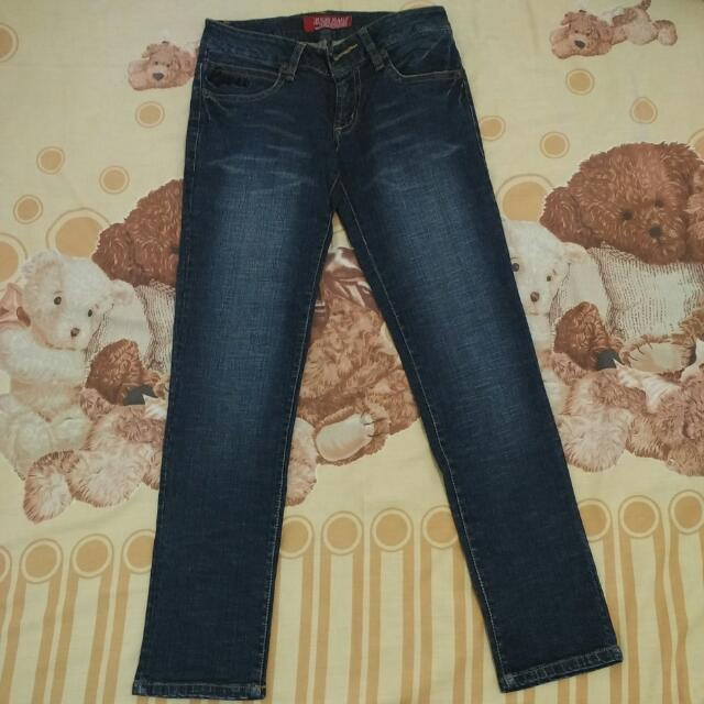 Long Guess Jeans Size 28