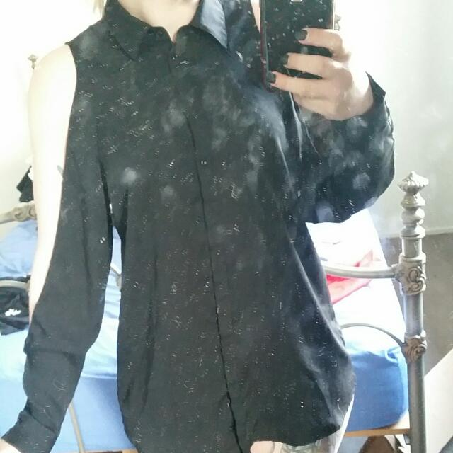 Long Sleeved Black Shirt