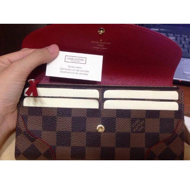 LV Louis Vuitton CAISSA 長夾 錢包 N61221 棋盤紋