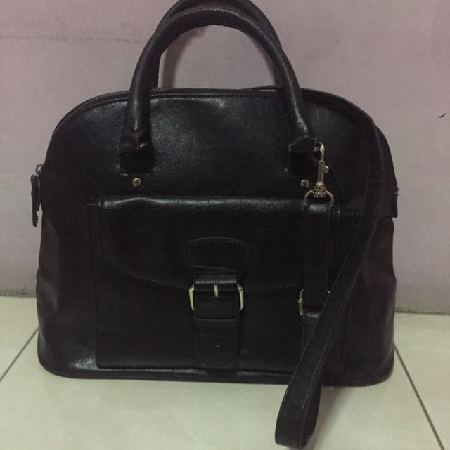 [Mango] Buckle Tote Bag