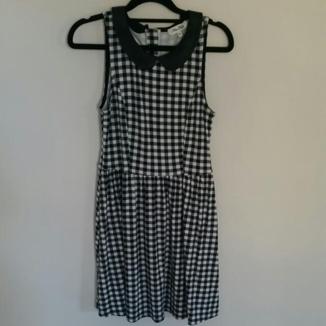 Miss Shop Checkered Dress