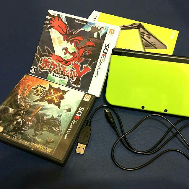 N3DS遊戲主機(含卡帶*2)