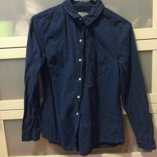 Old Navy Collared Button-up Shirt