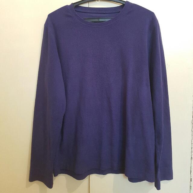 Oversized Purple Long Sleeves