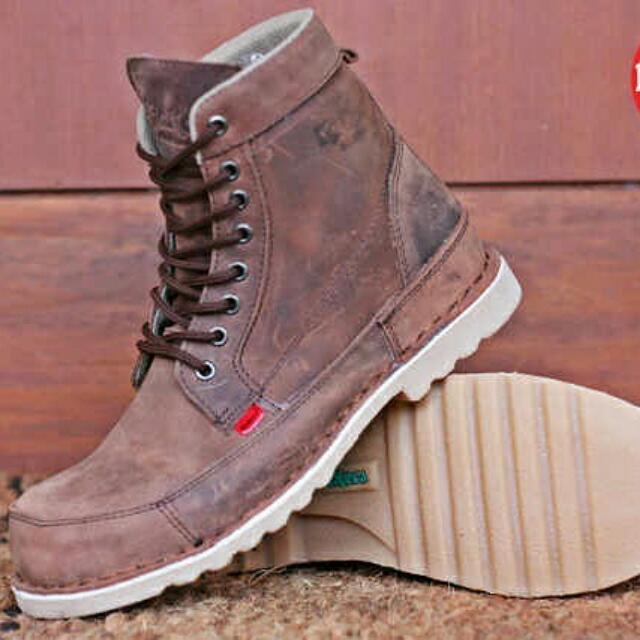 Sepatu Boots Pria Kickers e119b3e67c