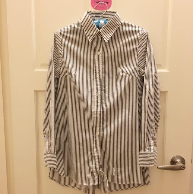 SHEINAR線條襯衫