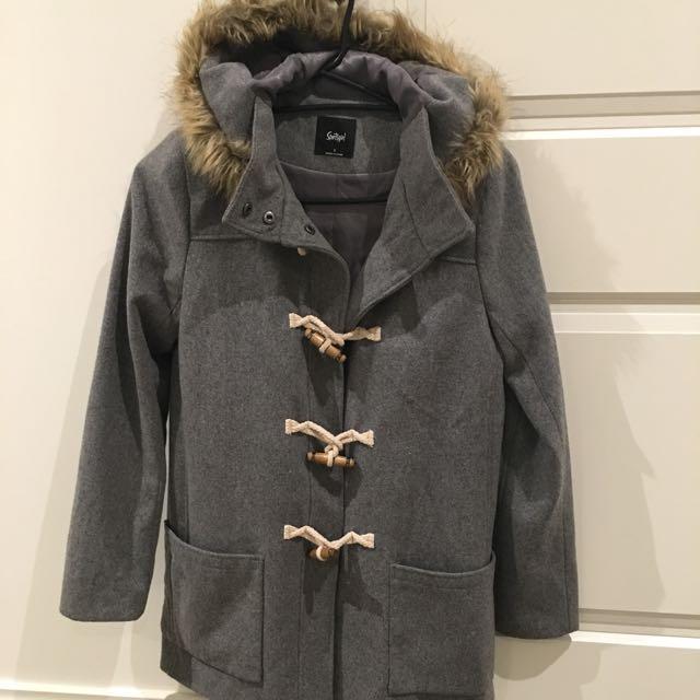 Sportsgirl Hooded Jacket Size 6