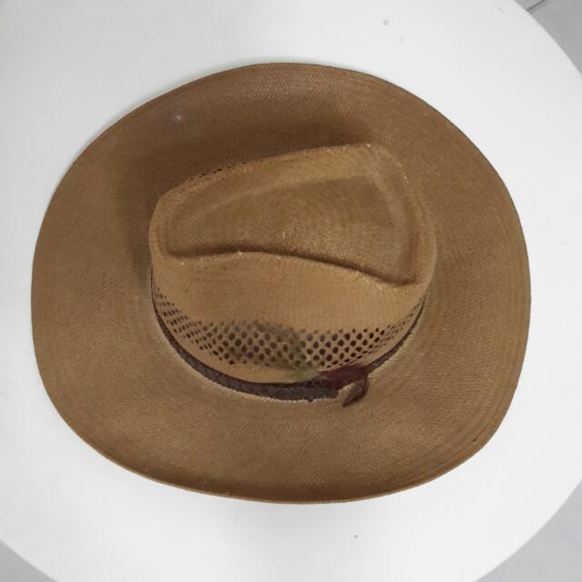 Stetson Digger Vented Shantung Shaw Hat 891f371445b
