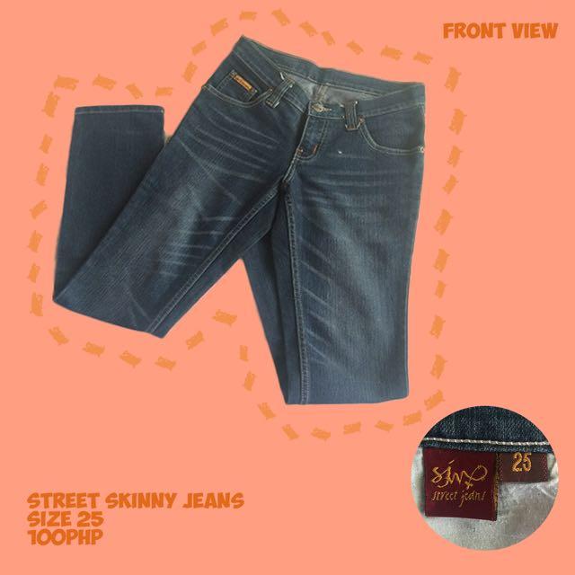Street Skinny Jeans