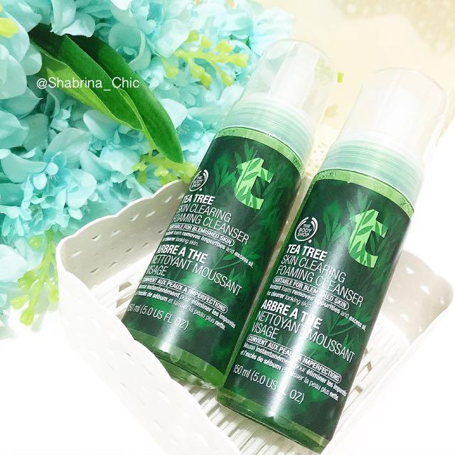 The body shop tea Tree Skin Clearing Foaming Cleanser 150ml