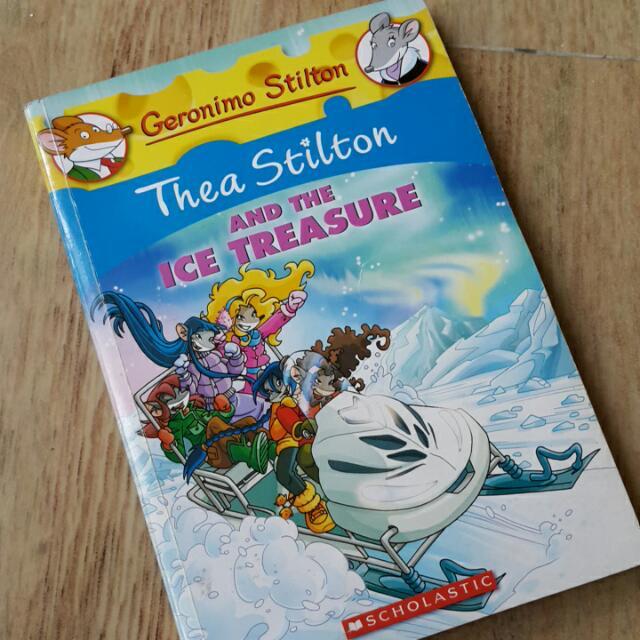 Thea Stilton & The Ice Treasure