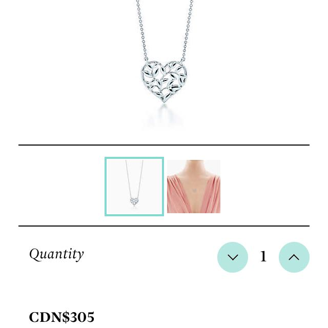 Tiffany And Co Picasso Heart Necklace