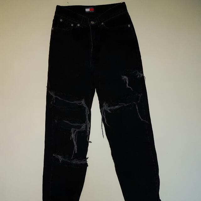 Tommy Hilfiger Black Jeans
